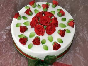"""Festtorte """"Red Roses"""""""